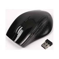 Беспроводная оптическая мышка мышь MR-309 Black, фото 1