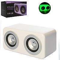 Колонка SG-1741 25-12см, аккум, bluetooth, MP3, 2режима света, USBзарядн,в кор-ке, 29-17-15см