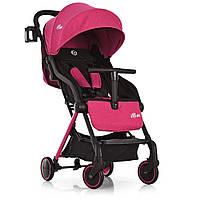 Коляска детская ME 1036L MIMI Candy Pink  прогулочная,книжка,колеса 4шт,чехол, розовая