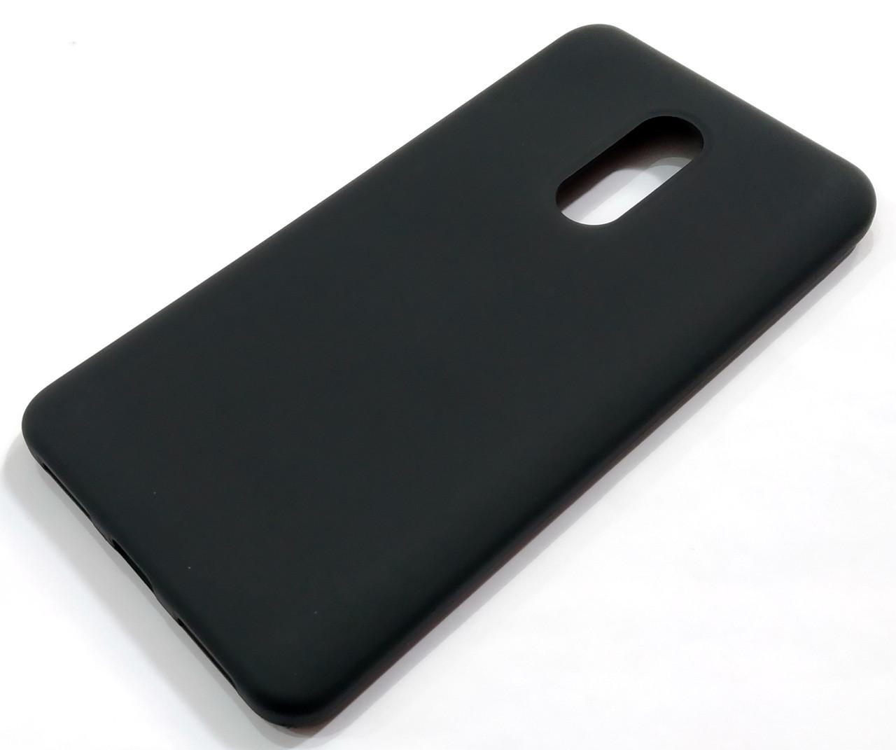 Чехол Silicone Cover для Xiaomi Redmi Note 4X черный