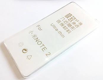 Чехол для Xiaomi Mi Note 2 силиконовый ультратонкий прозрачный