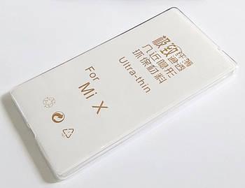 Чехол для Xiaomi Mi Mix силиконовый ультратонкий прозрачный