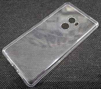 Чехол для Xiaomi Mi Mix 2 силиконовый прозрачный