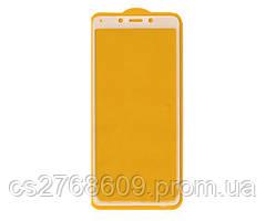 Защитное стекло / Захисне скло Xiaomi Redmi 6, Redmi 6a білий 9D без упаковки