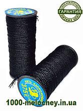 Капроновые нитки ( Текс №375 ) для обуви, черные 10 шт/уп
