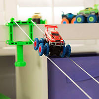 Игровой набор Trix Trux Monster Truk Канатный детский трек Монстер трак (BB883), фото 4