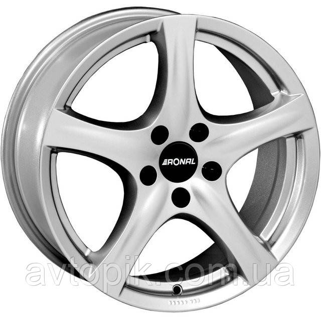 Литі диски Ronal R42 R16 W7.5 PCD5x112 ET45 DIA57.1 (crystal silver)