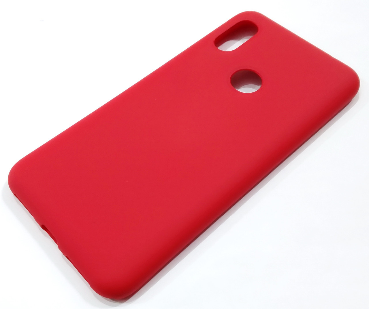 Чехол Silicone Cover для Xiaomi Redmi Note 6 Pro красный