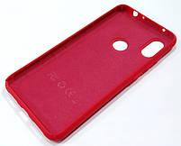 Чехол Silicone Cover для Xiaomi Redmi Note 6 Pro красный, фото 2