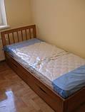 """Ліжко """"Медея міні"""" без ящиків (масив бука), фото 2"""
