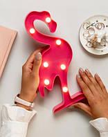 Светильник 3D Фламинго, фото 1
