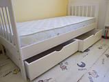 """Ліжко """"Хлоя"""" з ящиками (масив бука), фото 4"""