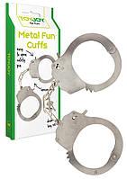 Металические наручники Toy Joy  Metal Handcuffs подарок любимому человеку настоящая игрушка для секса