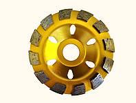 Диск алмазний Craft шліфувальний double row 100*22,2mm*Т5 - сухе/мокре шліфування бетону, каменю
