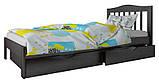 """Ліжко """"Хлоя міні"""" з ящиками (масив бука), фото 3"""