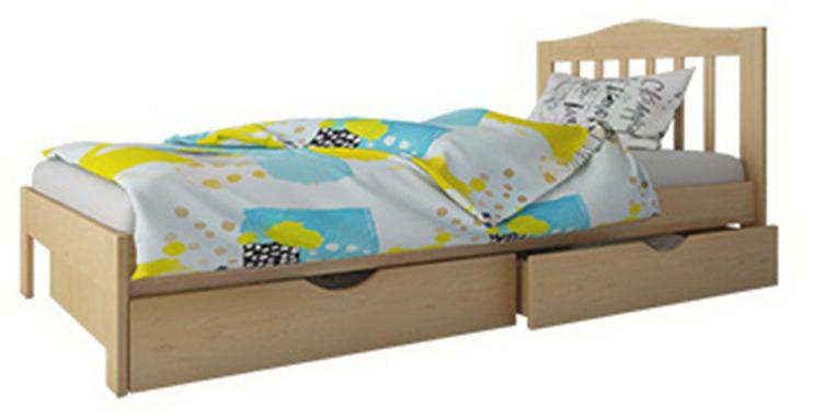"""Кровать """"Хлоя мини"""" с ящиками (массив бука)"""