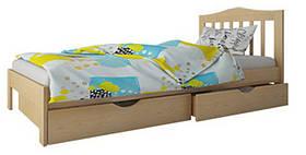 """Ліжко """"Хлоя міні"""" без ящков (масив бука)"""