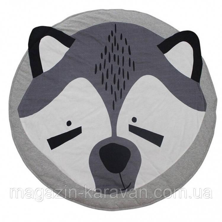 Одеяло коврик в детскую комнату Енотик