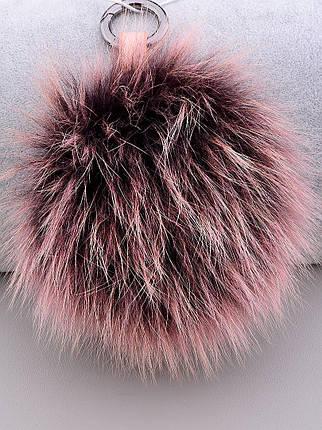 Брелок Помпон Мех натуральный, фото 2