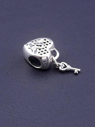 077242 Шарм 'Pandora style'  Серебро(925), фото 2