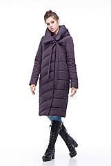 Зимняя женская куртка ORIGA Вероника 46 Амарантовый, КОД: 1341610
