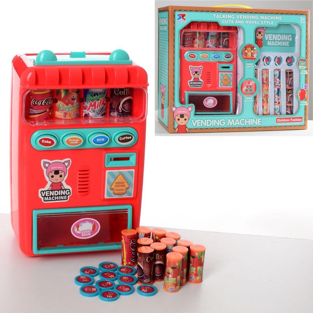 Мебель 8131  автомат 21см, звук, свет, продукты, монеты, на бат-ке,32-26,5-10,5см