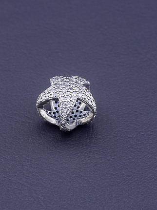 077281 Шарм 'Pandora style' Фианит Серебро(925), фото 2