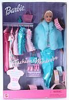 Коллекционная Игровая Кукла Барби Блондинка 1999 года Barbie с модным гардеробом и 20 аксессуарами