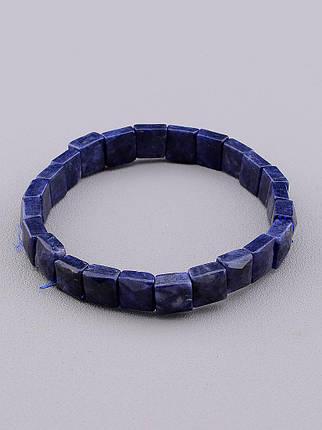 Браслет с Сапфиром - Ювелирный камень. 19 см.  23,04 г., фото 2
