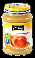 Фруктовое пюре Hame яблоко и персик, 190 г
