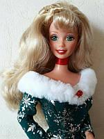 Коллекционная Игровая Кукла Барби праздничный сезон 1997 года Barbie Doll