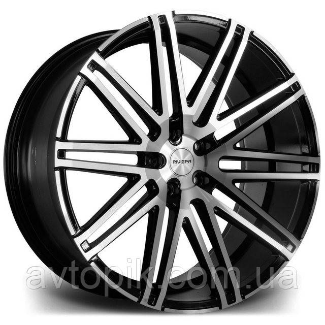 Литые диски Riviera RV120 R22 W9 PCD5x114.3 ET35 DIA74.1 (black polished)