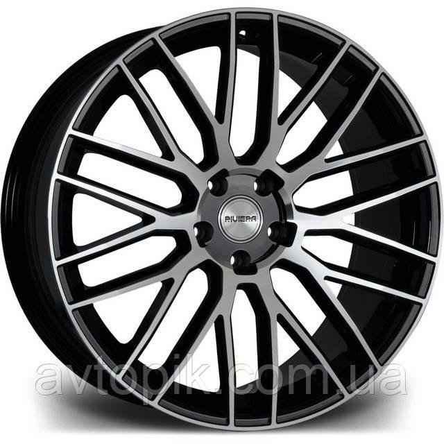 Литі диски Riviera RV126 R22 W10 PCD5x115 ET35 DIA74.1 (gloss black polished)