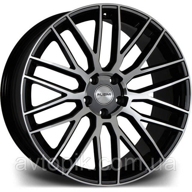 Литые диски Riviera RV126 R22 W10 PCD5x110 ET40 DIA74.1 (gloss black polished)