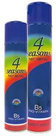 Пена для укладки волос 4 сезона Зелёная 225 мл