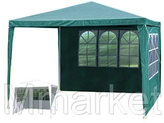 Садовый павильон шатер 3х3 со 2 стенками