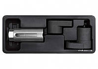 Ключ торцевий з внутрішним багатогранником для лямбда-зонду YATO : l=22 мм, 3 шт [20]
