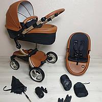 Mima Xari Camel&Black Детская коляска Мима Ксари