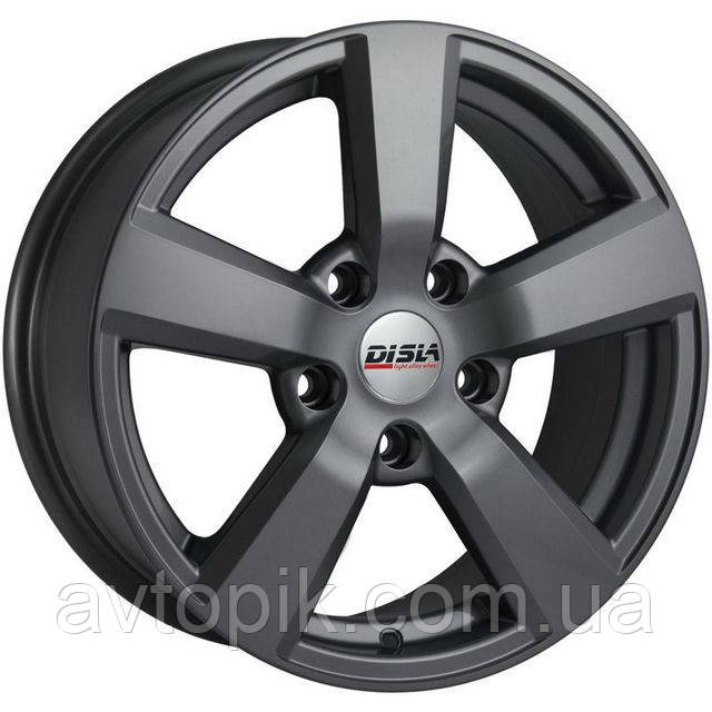 Литые диски Disla Formula R16 W7 PCD5x114.3 ET45 DIA67.1 (GM)
