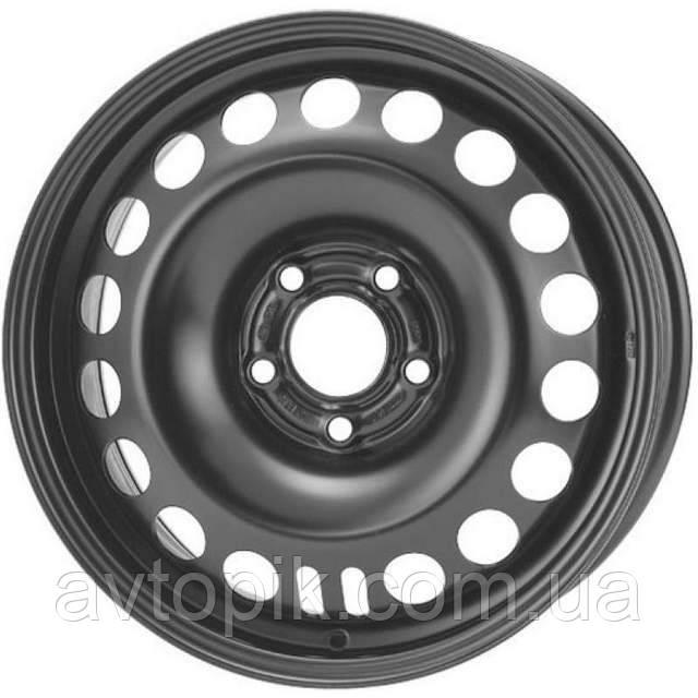 Стальные диски Steel Trebl R16 W6.5 PCD5x114.3 ET52.5 DIA67.1 (black)