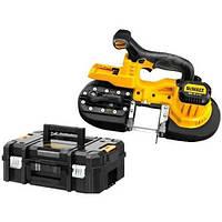 Аккумуляторная пила ленточная DeWALT,18,0В XR Li-lon,скорость ленты 174 м/мин,3,9 кг,чемодан TSTAK, шт