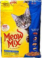 Корм Meow Mix SeaFood, 6,44кг