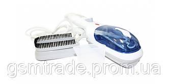 Паровой утюг-щетка Steam Brush отпариватель для одежды Белый (R0012)
