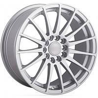 Литые диски Angel Turismo R17 W7.5 PCD5x114.3 ET45 DIA67.1 (silver)