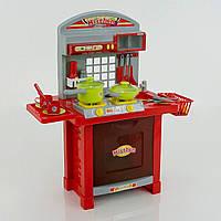 Кухня 008-55 А Красная, свет, звук, на батарейках, с аксессуарами
