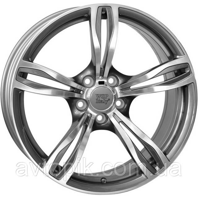 Литые диски WSP Italy BMW (W679) Daytona R20 W10 PCD5x120 ET41 DIA72.6 (anthracite polished)