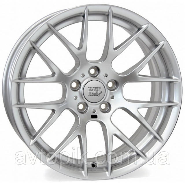 Литые диски WSP Italy BMW (W675) Basel M R19 W9.5 PCD5x120 ET37 DIA72.6 (silver)