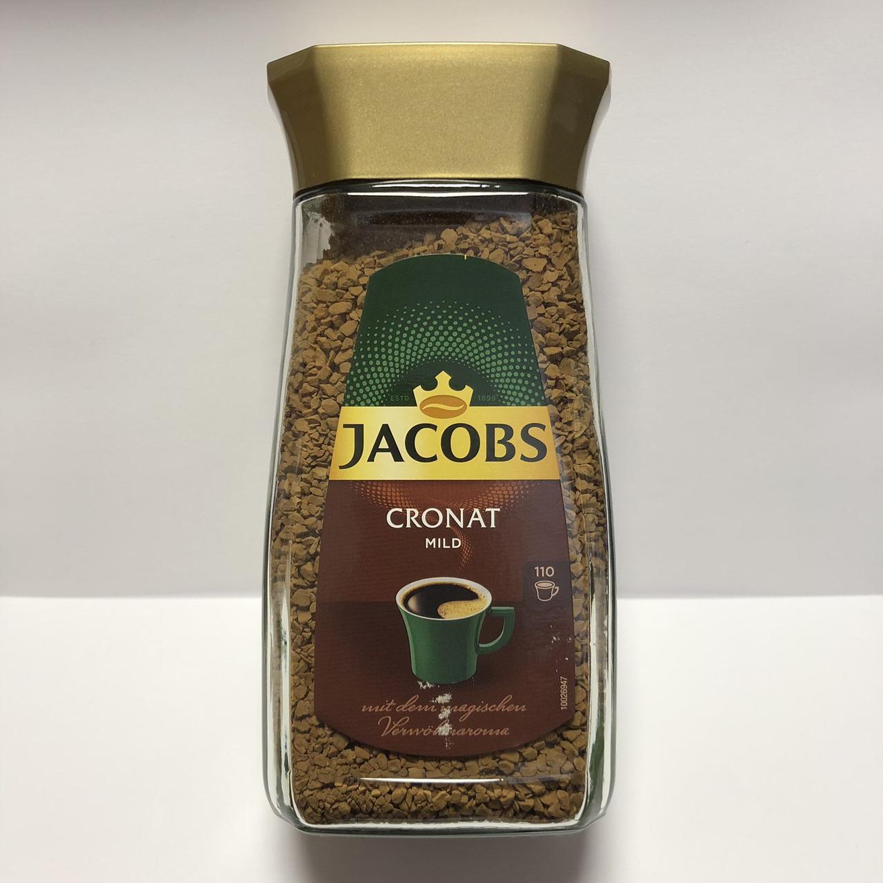 Кофе растворимый Jacobs Cronat mild, 200 г.