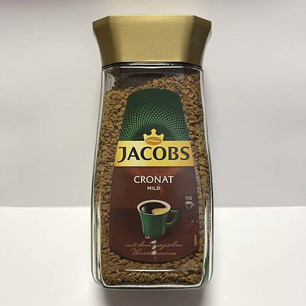 Кофе растворимый Jacobs Cronat mild, 200 г., фото 2