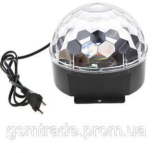 Диско шар UKC Magic Ball Music Черный (R0066)